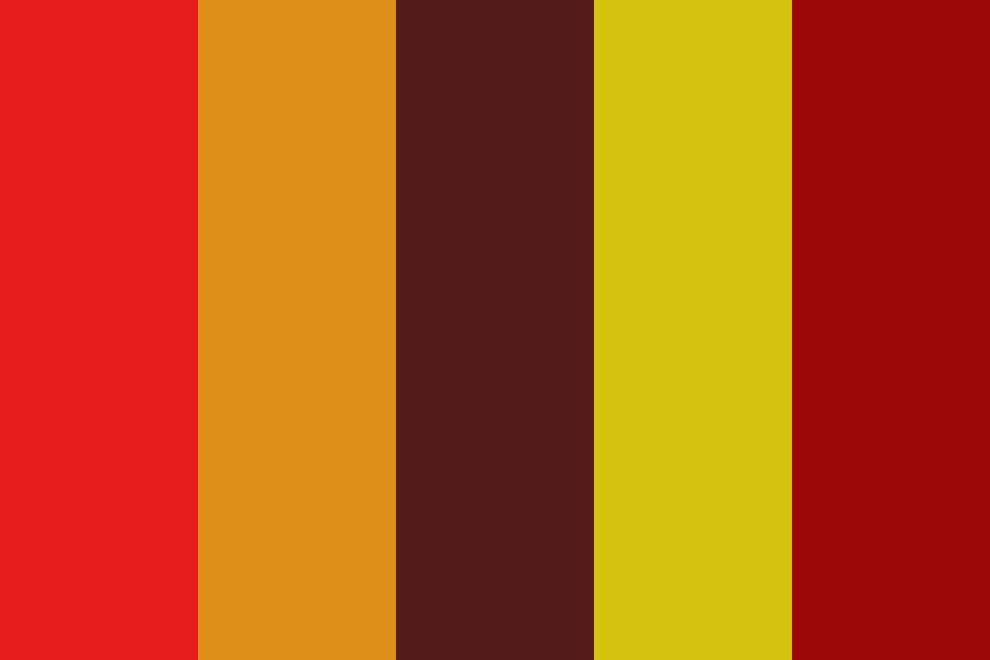 Wildfire Color Palette