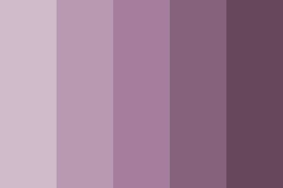 Wilted Lavender Color Palette
