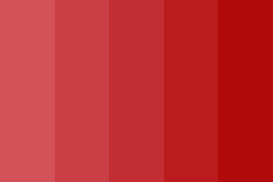 Wine Red Color Palette