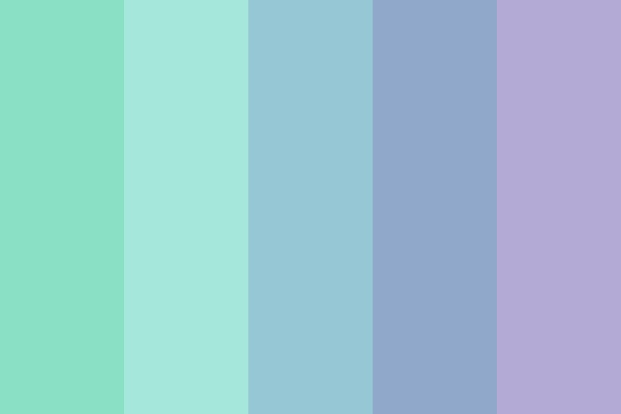 Winter At The Ocean Color Palette