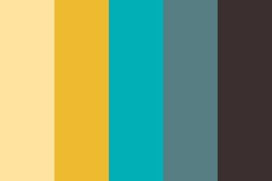 Winter Cafe Color Palette