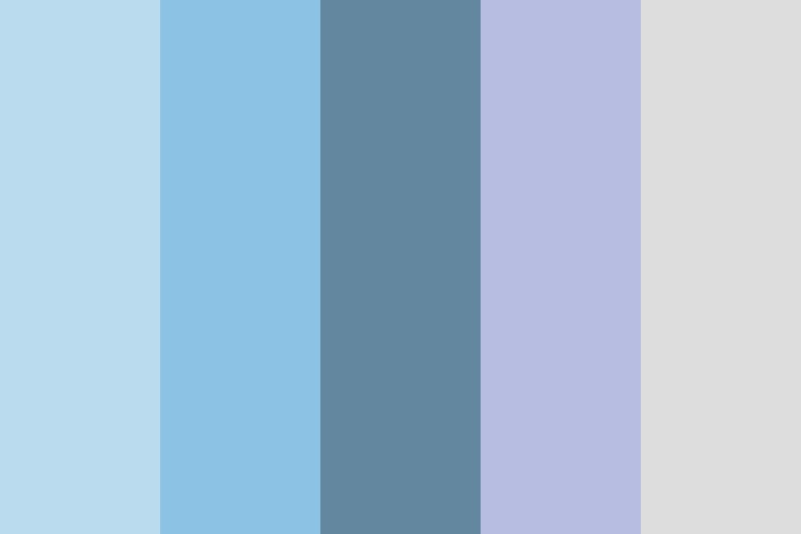 Winter Calm Color Palette