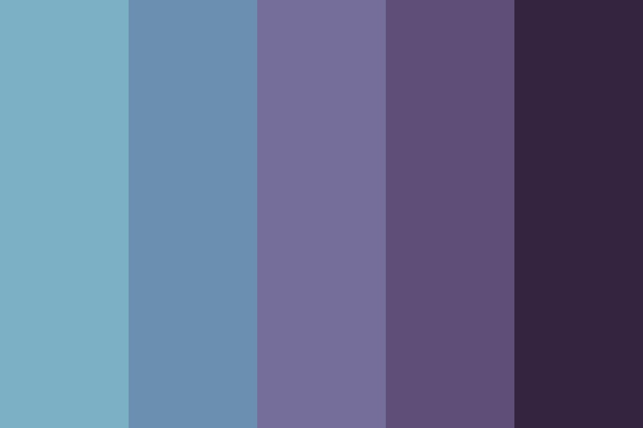 Winter In March Color Palette