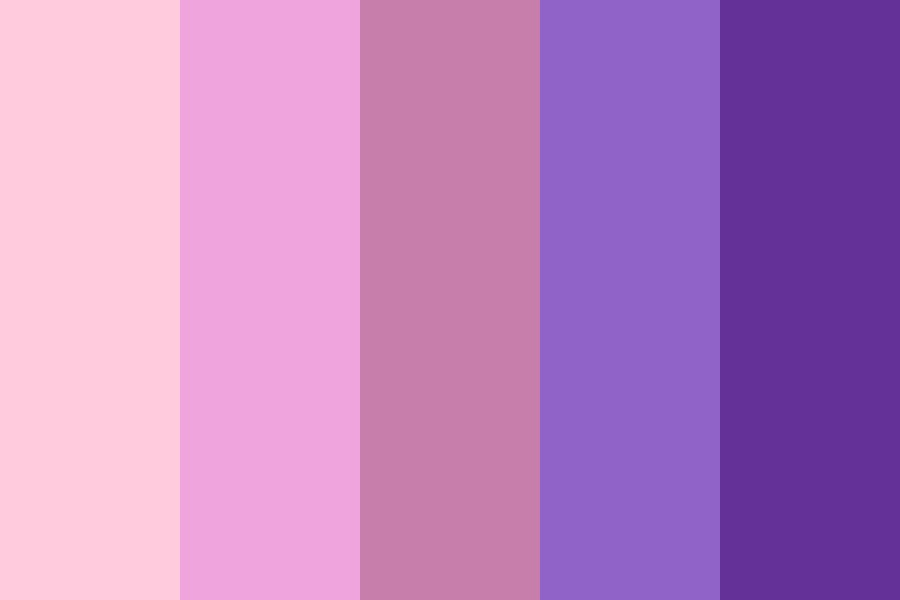 Winter Rose Color Palette