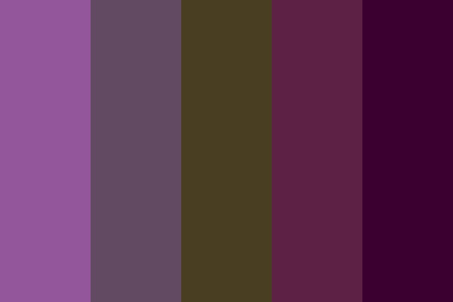 Wisteria Tree Color Palette