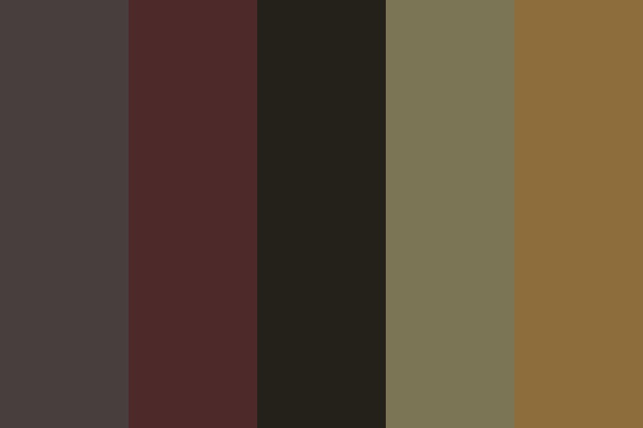 Withered Rose Color Palette