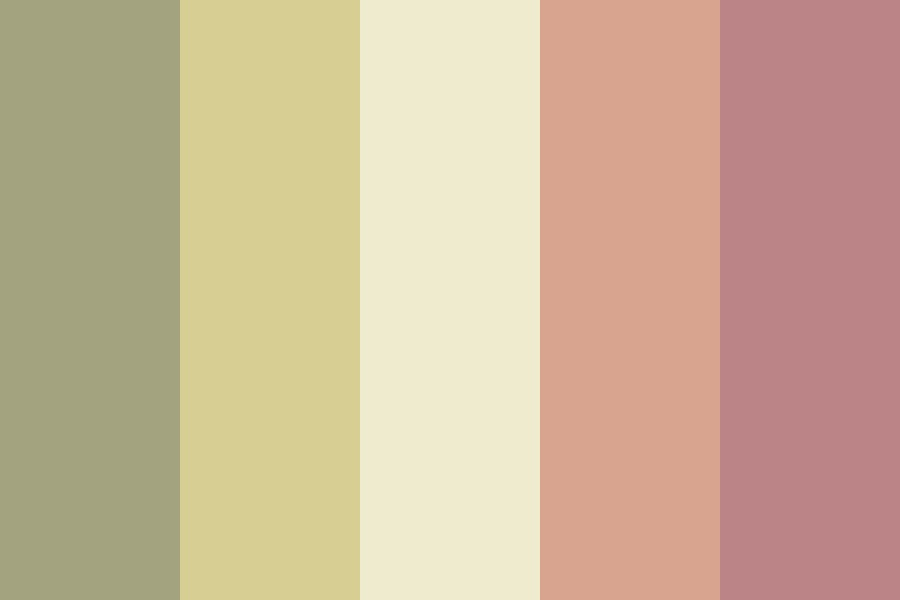 Withered Sakura Color Palette