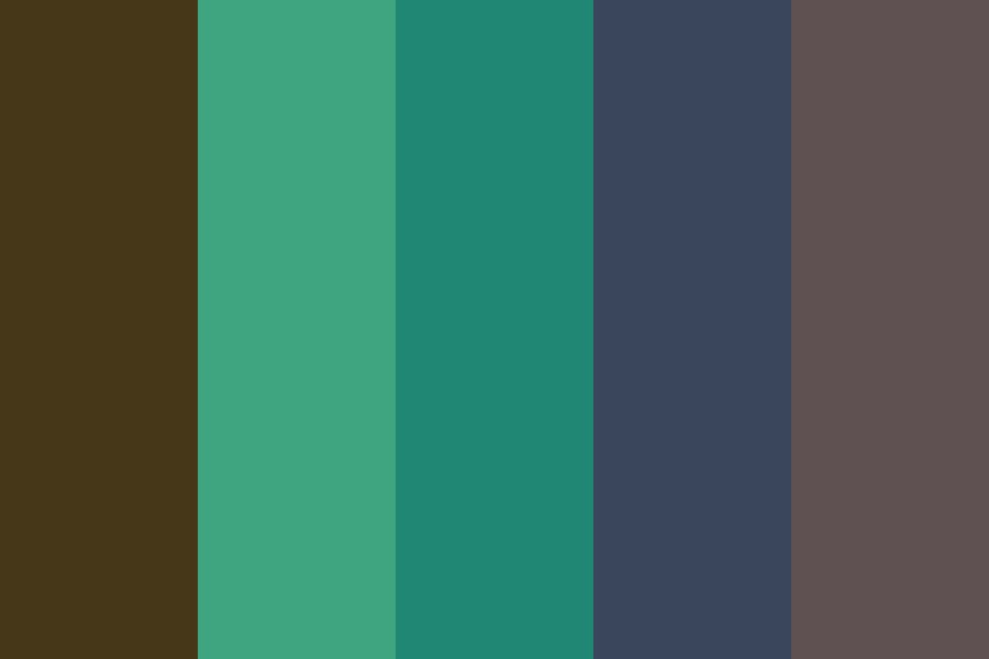 Withered Shurb Color Palette