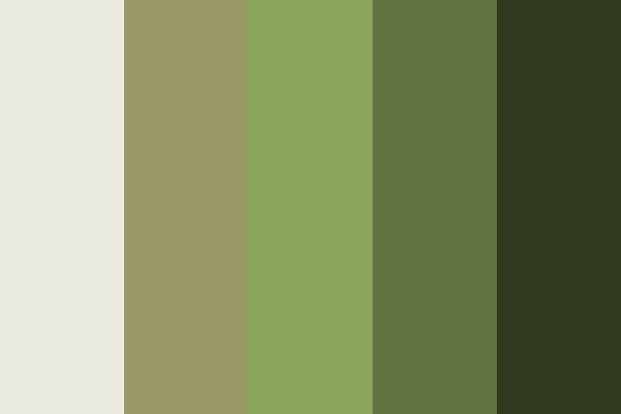 Wndgreens Color Palette