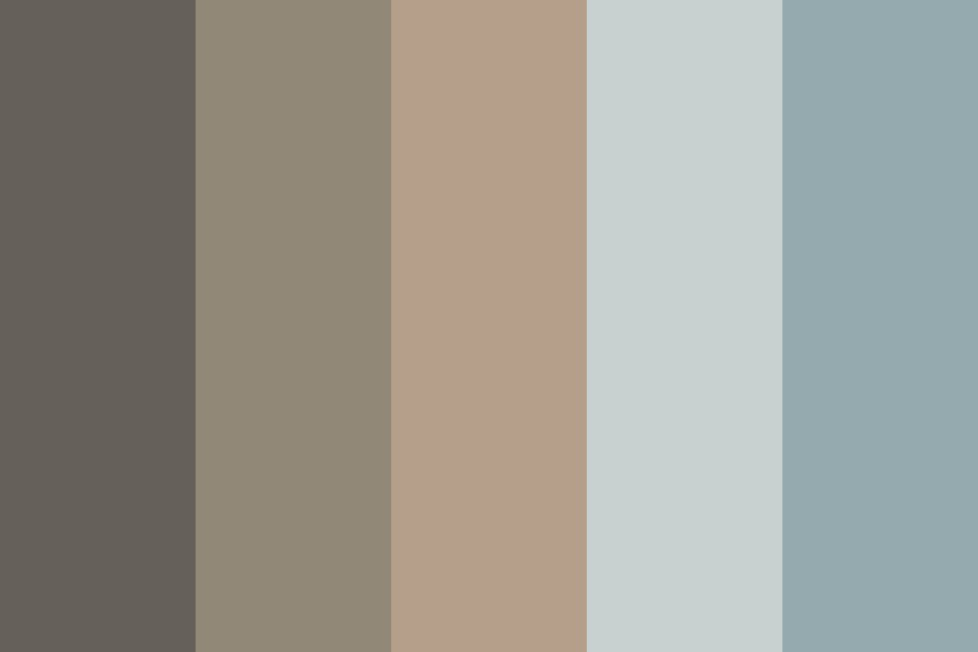 Wolf Of The Crescent Moon Color Palette