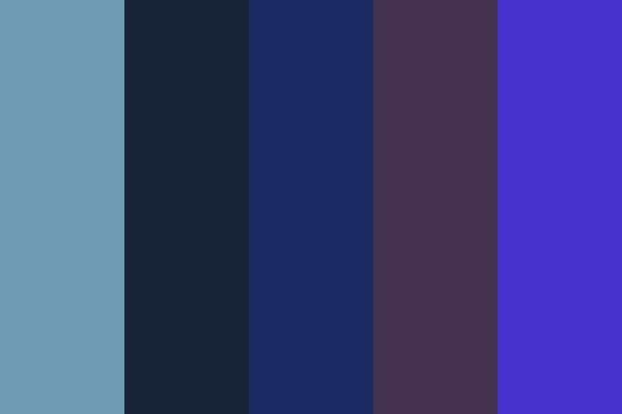 Wont You Say Goodnight Color Palette