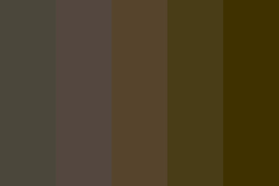Wooded Winters Color Palette
