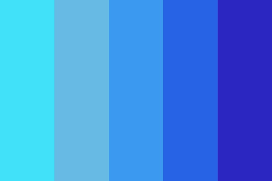 Wow Its Blue Color Palette