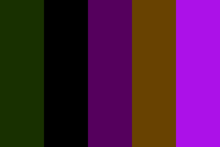 Xiled Moon Color Palette
