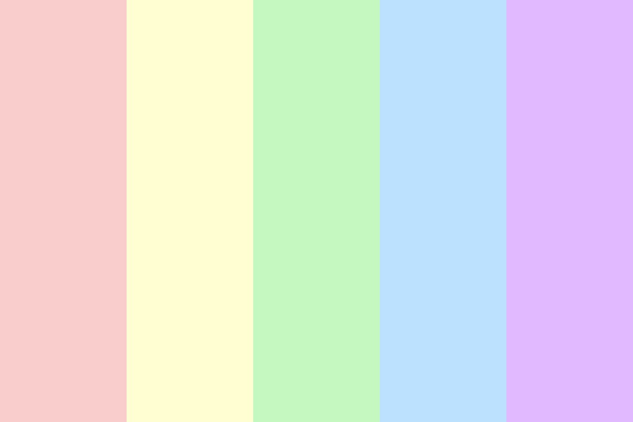 Xtra Light Pastels Color Palette