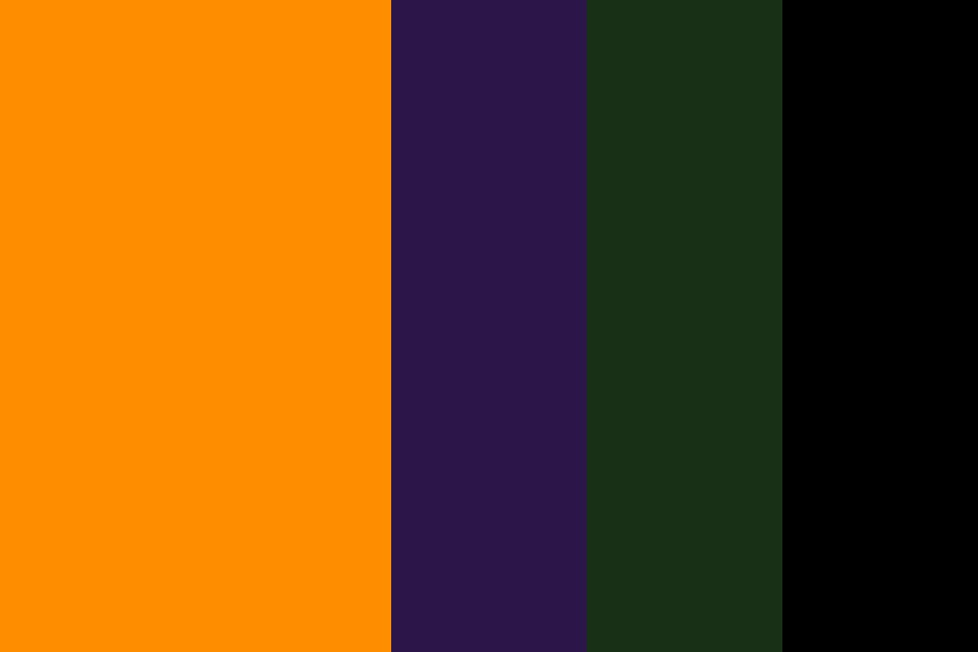 Yay Halloween Color Palette