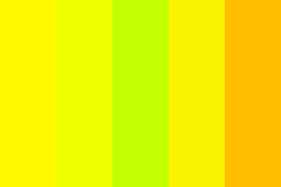 Yellow Awesome Palette Color Palette