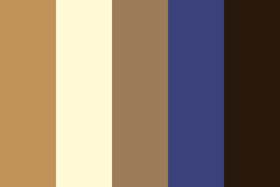 Yellow Birch Color Palette