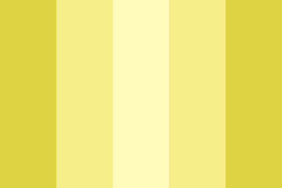 Yellow Calcite Color Palette