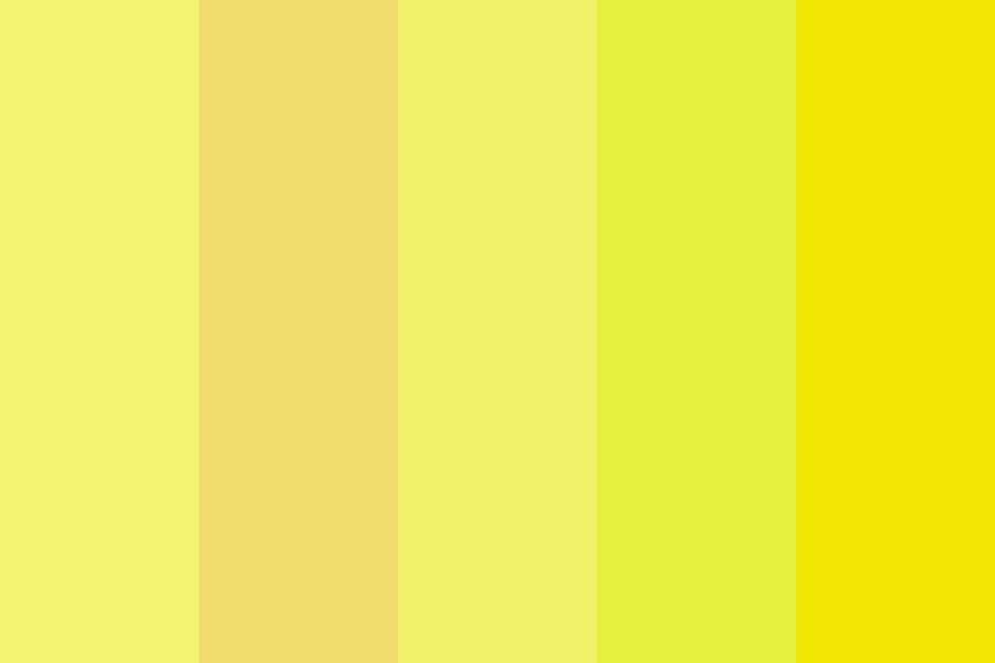 Yellow Day Color Palette