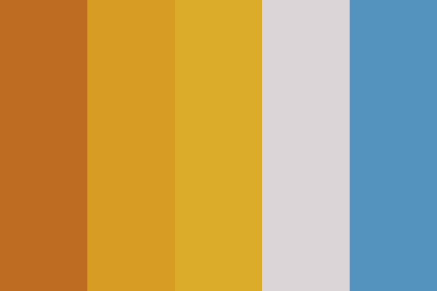 Yellow Days Color Palette