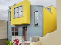 Yellow Gray House Color Palette