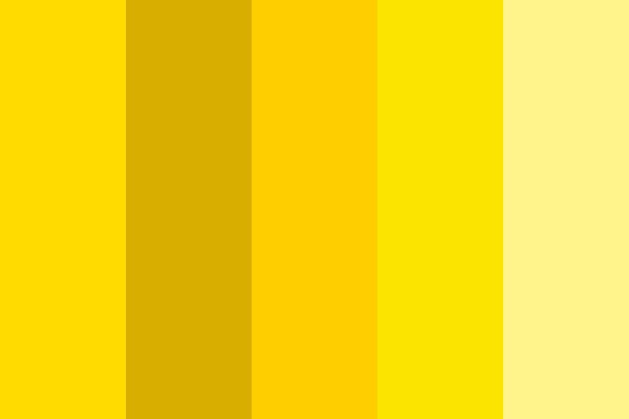 Yellow Lights Color Palette