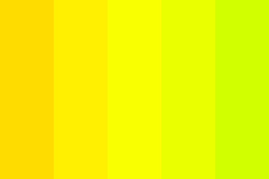 Yellow Magic Orchestra Color Palette