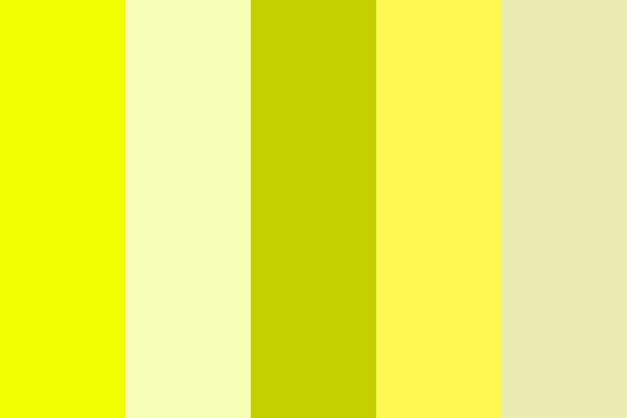 Yellow Makes Me Happy Color Palette