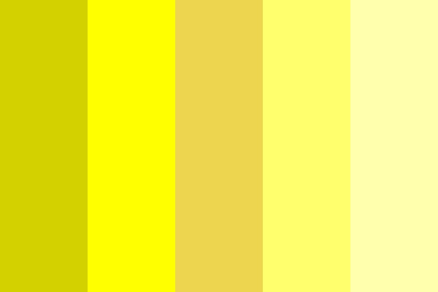 Yellow Mb Color Palette
