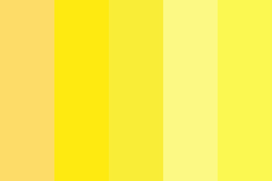 Yellow Ones Color Palette