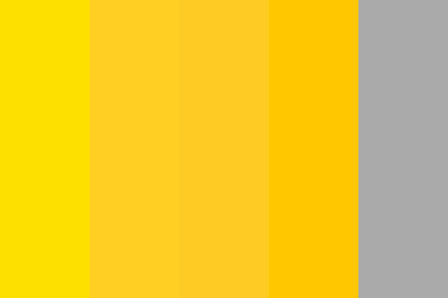 Yellow Options For Ultimate Mood Board Color Palette