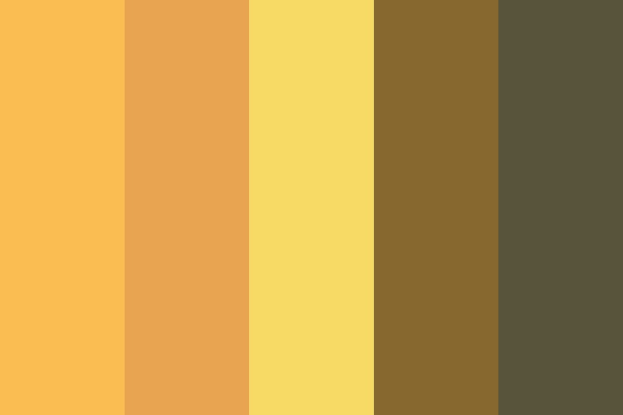 Yellow Oranges Color Palette
