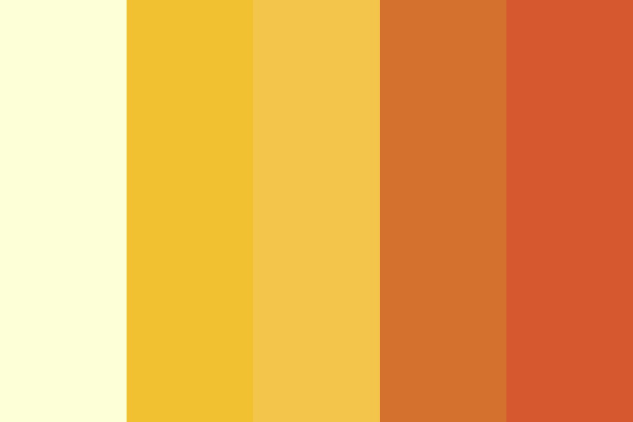 Yellow Roses Color Palette