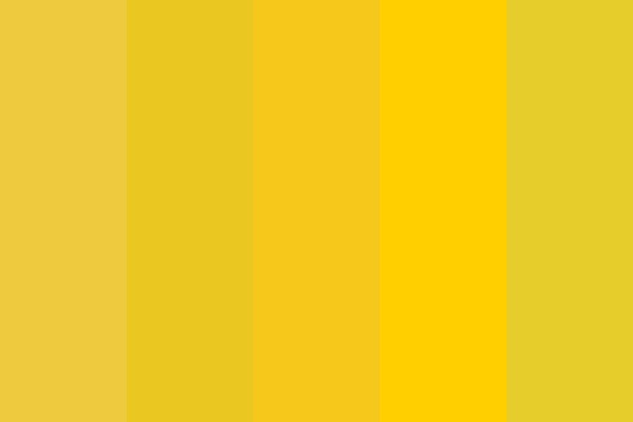 Yellow Sqaud Color Palette