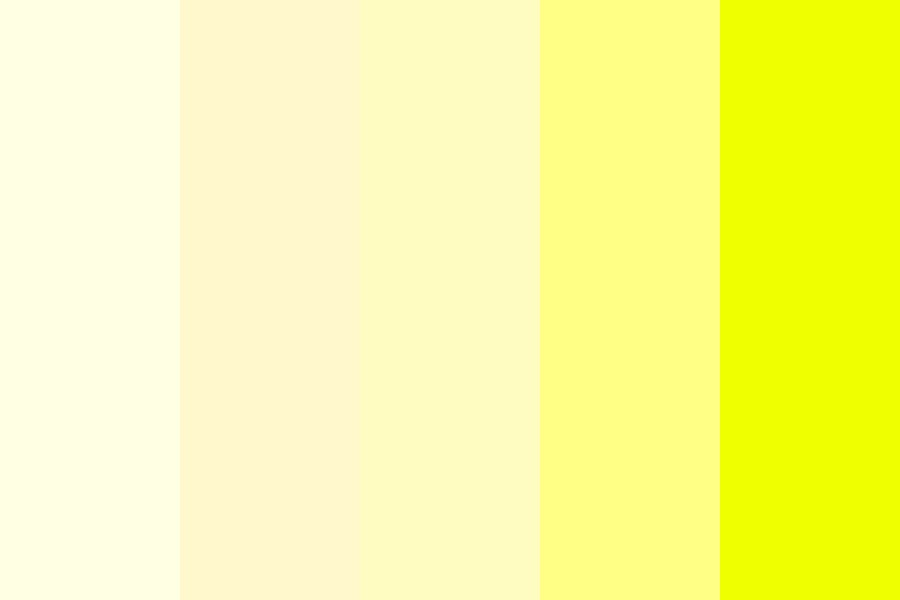 Yellow Stava Color Palette