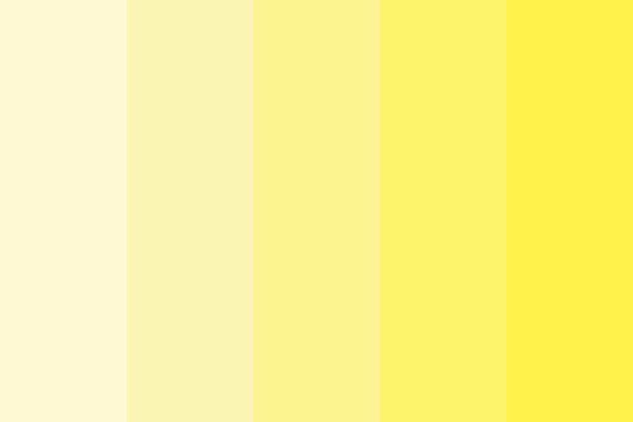 Yellow Style Color Palette
