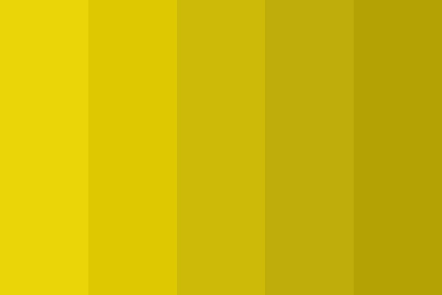 Yellow There People Color Palette