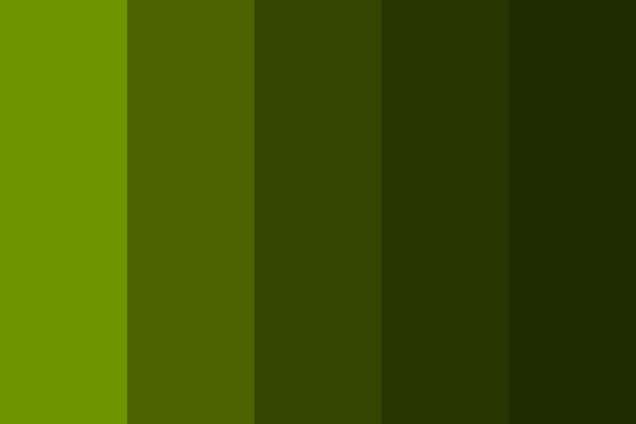 Yellowgreen Color Palette