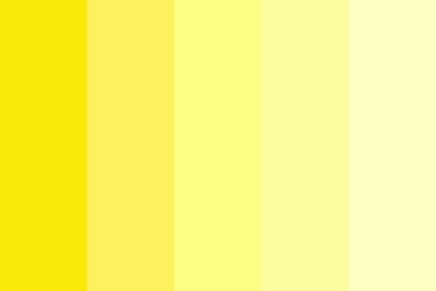 Yellowing Color Palette