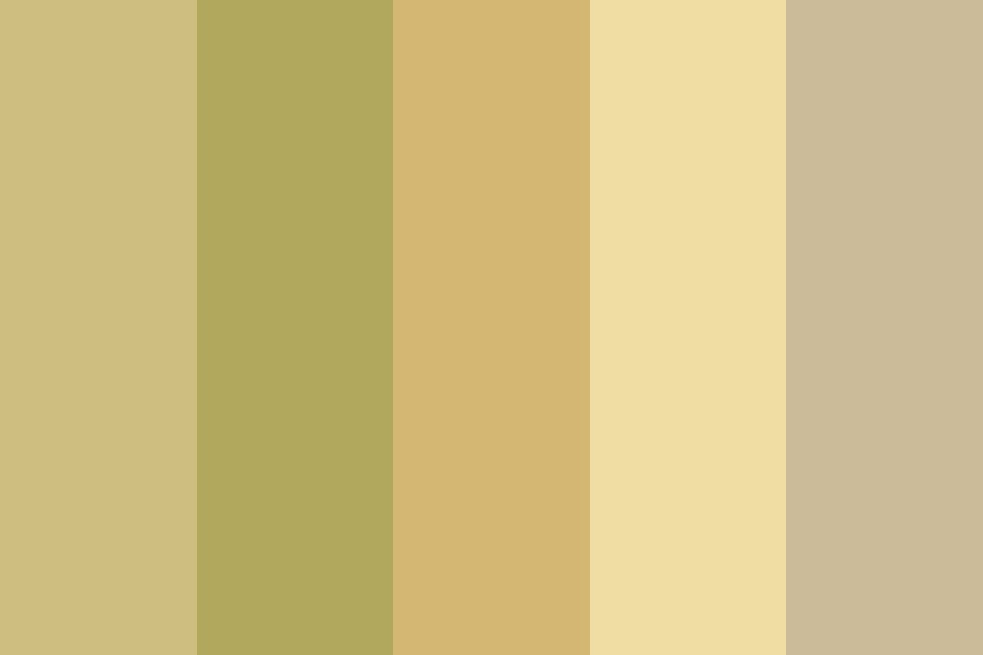 Yellows   Golds Color Palette