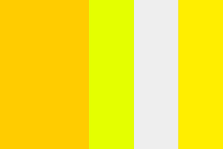 Yellows Color Palette