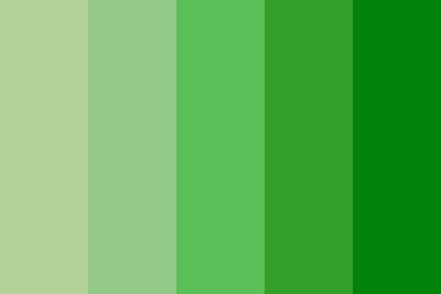 You Cant Go Wrong With Green Tho Color Palette
