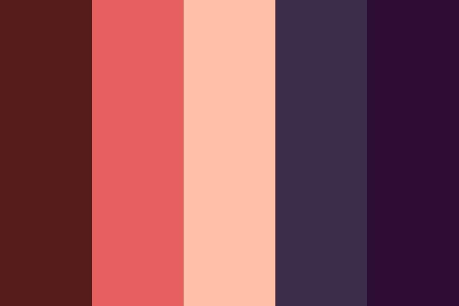 You In The Darkness Color Palette