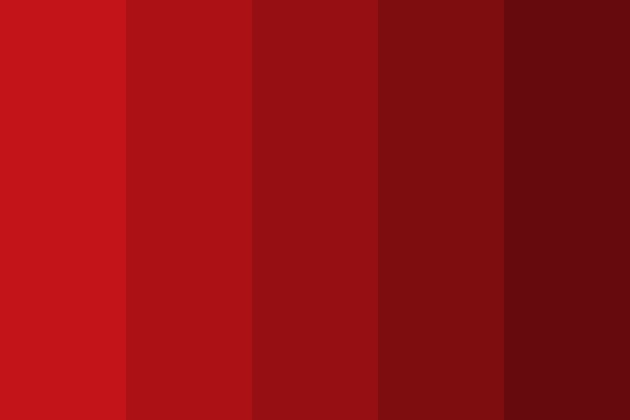 You My Red Love Color Palette