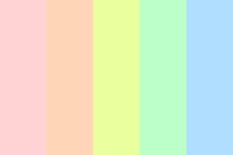 You Think In Ice Cream Color Palette