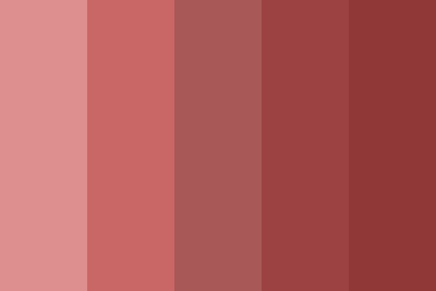 Your Skin Tastes Like Red Color Palette