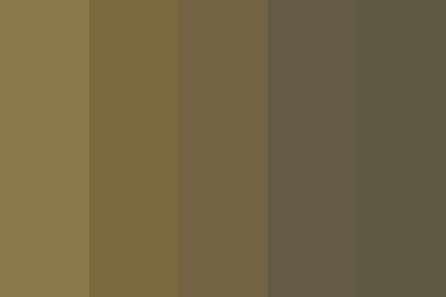 Your Soft Brown Eyes Color Palette