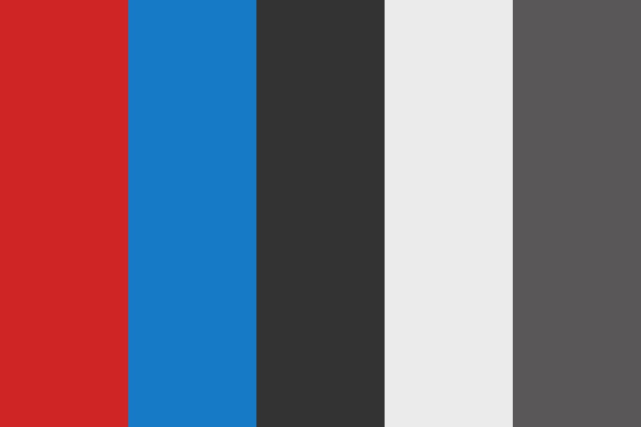 Youtube Red Color Palette