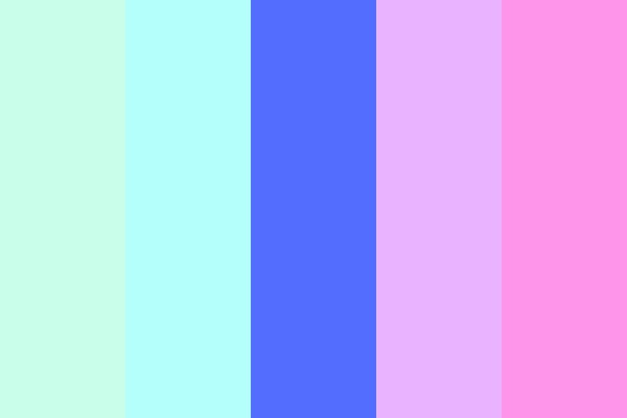 Yuusuke Galaxy Own Pallet Color Palette